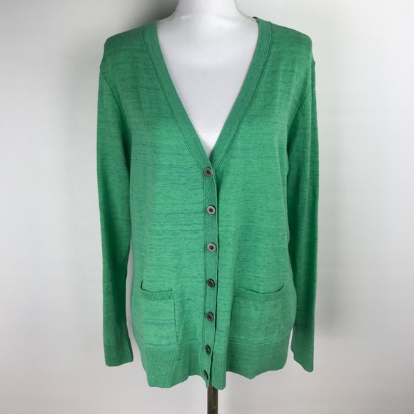 Style Cardigan Green CAbi Button Front 697 Sweaters Cabi XL 4qt4wPa60
